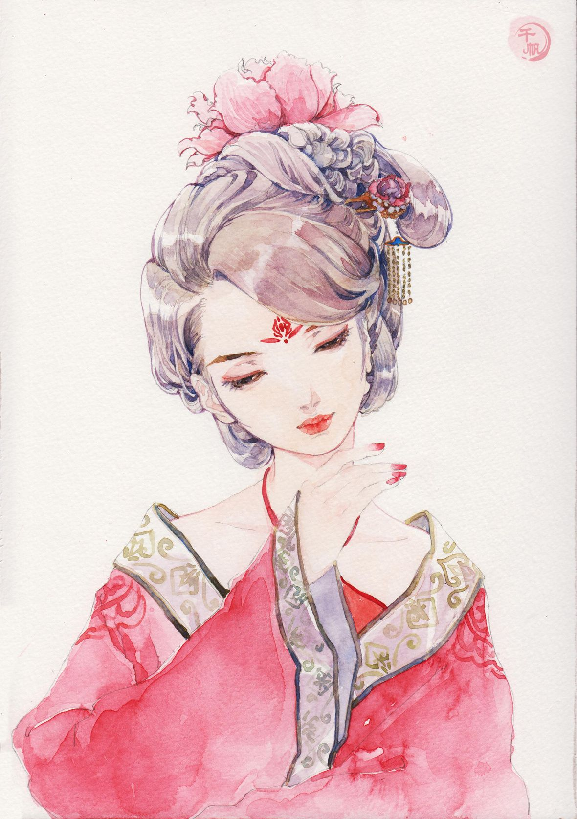 Pin by Adelaide on Hanfu Chinese drawings, Japanese art