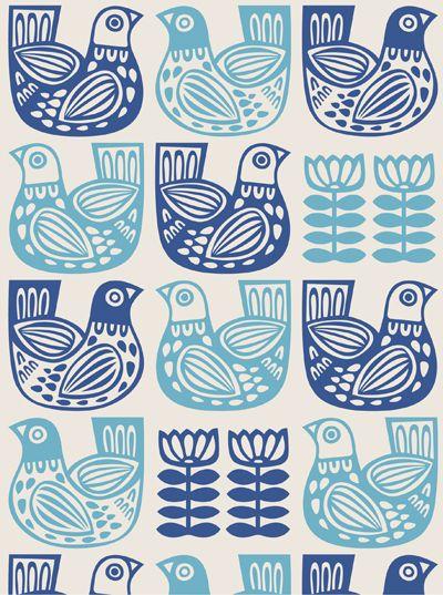 Print Pattern Pattern Art Folk Embroidery Scandinavian Folk Art