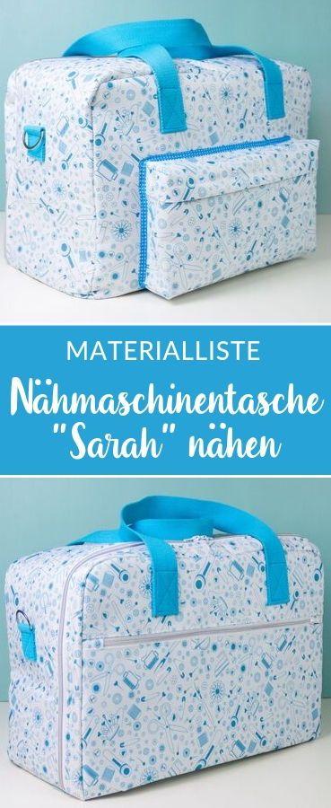 Nähmaschinentasche Sarah von Frau Fadenschein *Showroom*