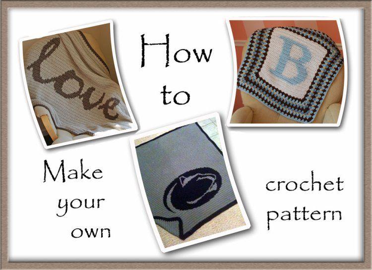 Crochet Graph Pattern-making Tutorial | Patrones gráficos, Cómo ...