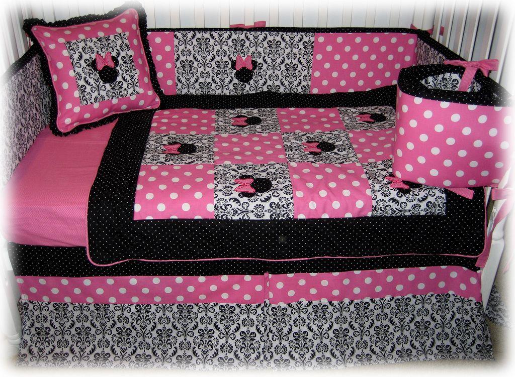 25+ best ideas about Minnie mouse crib set on Pinterest | Minnie ...