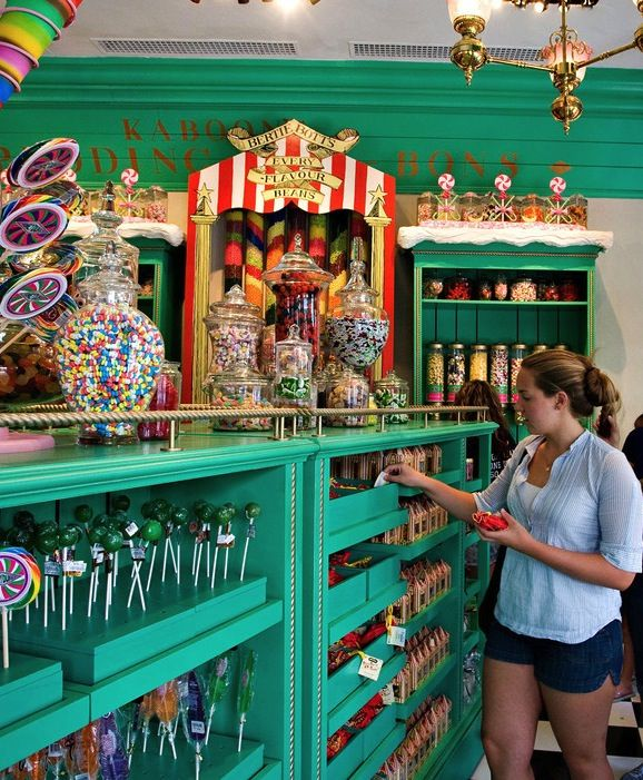 Best Places For Christmas Vacation Usa: 10 Candy Shops Where You Get The Willy Wonka Experience