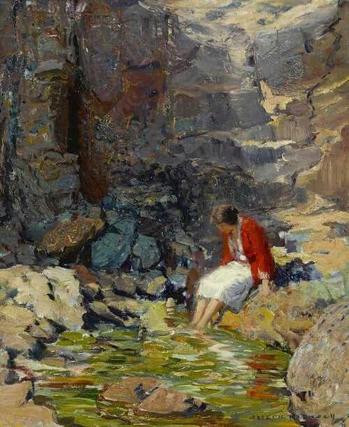 Joseph Kleitsch (1882-1931) Enchantment.