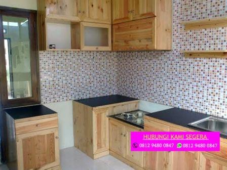 Tukang Kitchen Set Jati Belanda Bogor 0812 9480 08 Tukang Kitchen