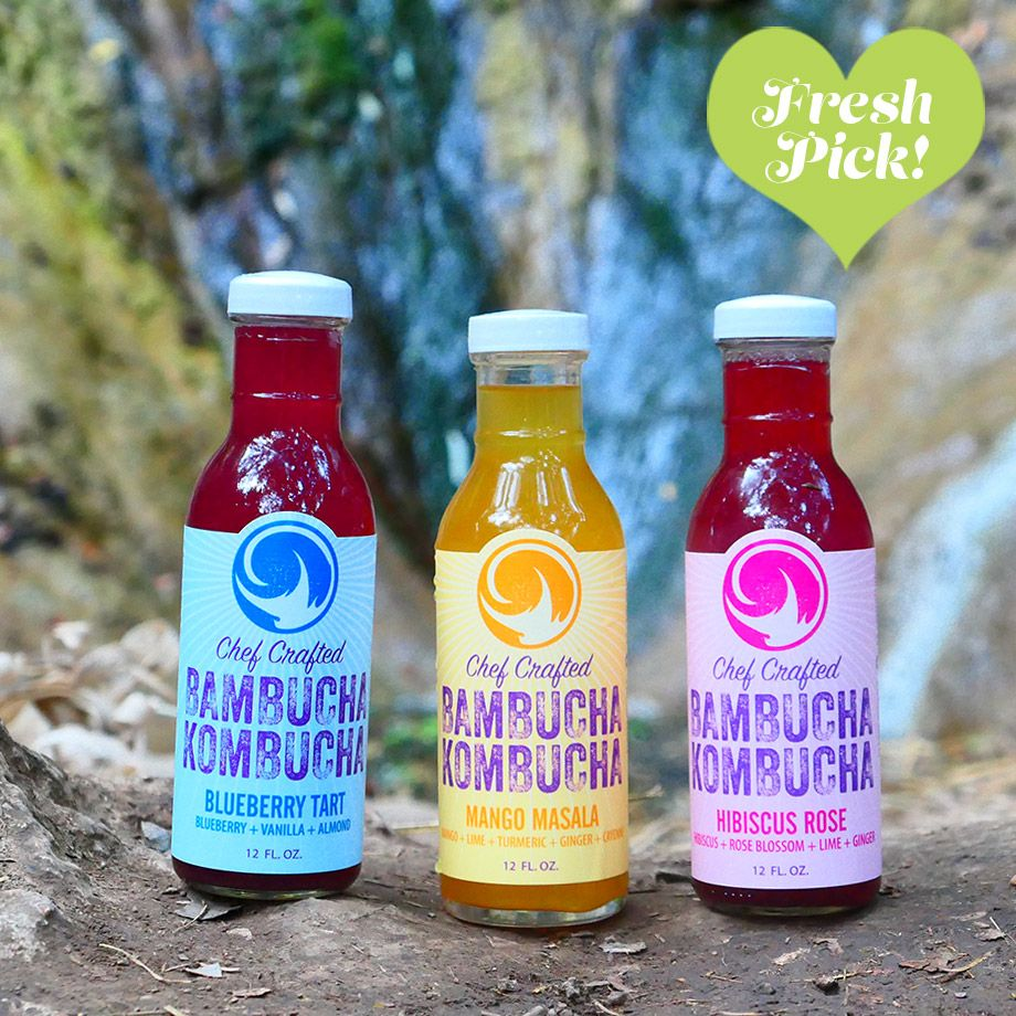 Based in: San Diego, CA Founded: 2016 Distribution: San Diego, CA   Even though we've tried hundreds of different flavors of booch over the  years, we're still constantly pleasantly surprised by new discoveries.  Bambucha, which launched in 2016, has definitely surprised us.   These are