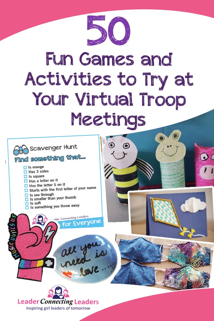 Pin on Virtual Scout Meeting Ideas