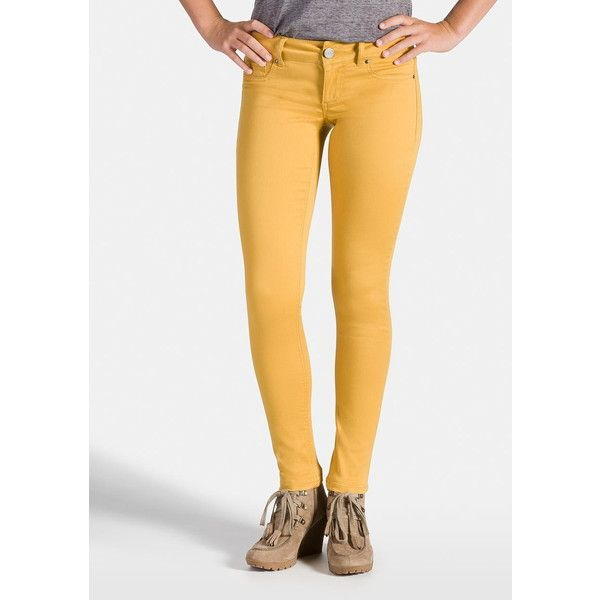 maurices Jegging In Autumn Gold ($34) ❤ liked on Polyvore featuring pants,  leggings - Maurices Jegging In Autumn Gold ($34) ❤ Liked On Polyvore