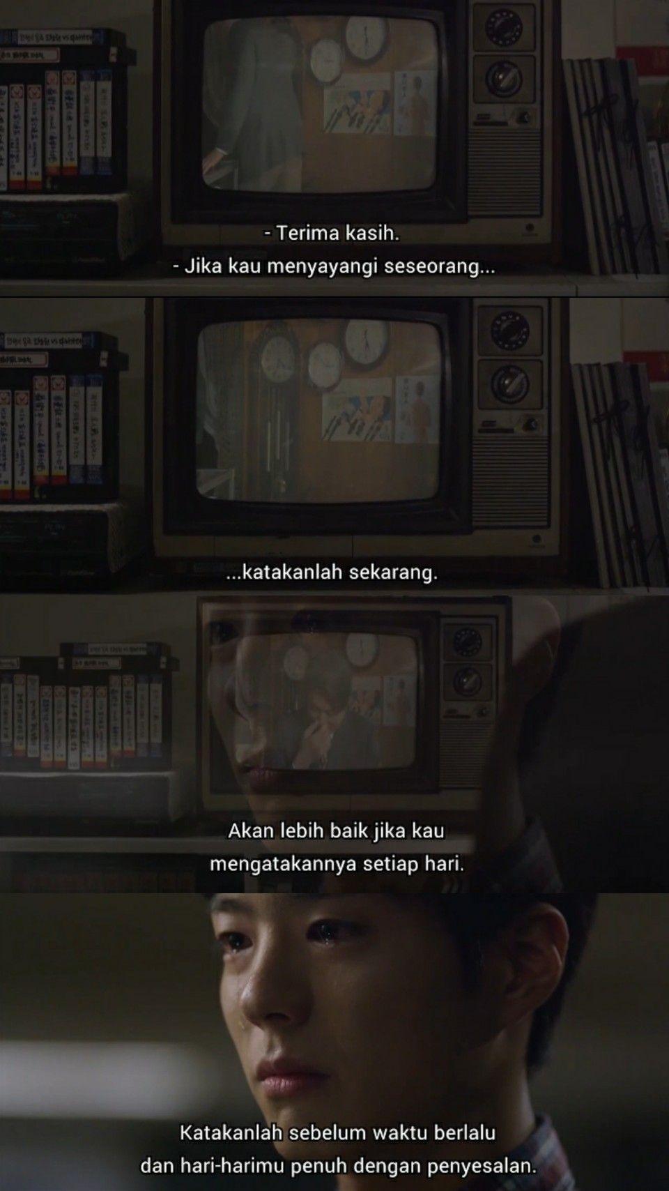 Pin Oleh Chil Ods Di Reply 1988 Quotes Bahasa Indonesia Kutipan Pelajaran Hidup Motivasi Buku Remaja