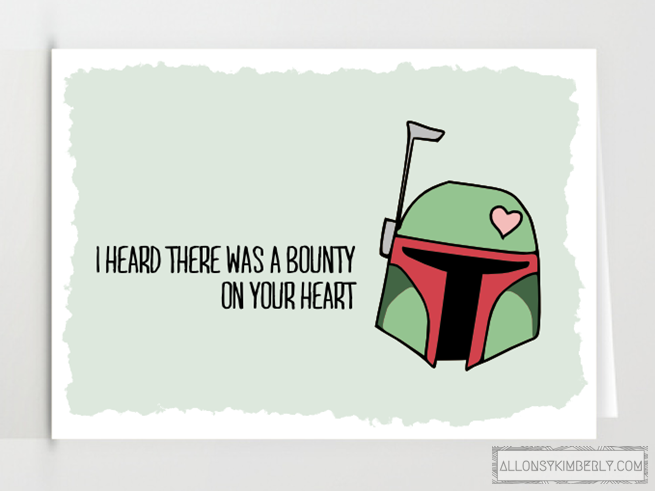 valentines cards star wars – Star Wars Valentines Day Cards