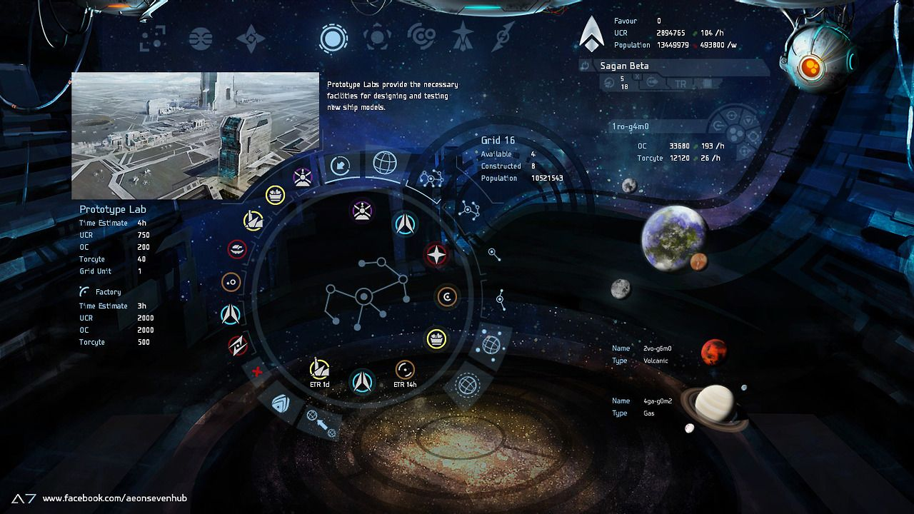 """First glimpse of our A7 browser game interface! """"We are"""