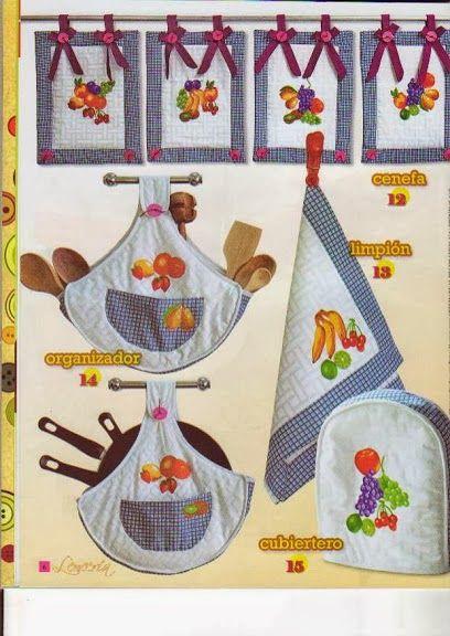 Blog de santa clauss revista lenceria para el hogar no - Manualidades para cocina ...