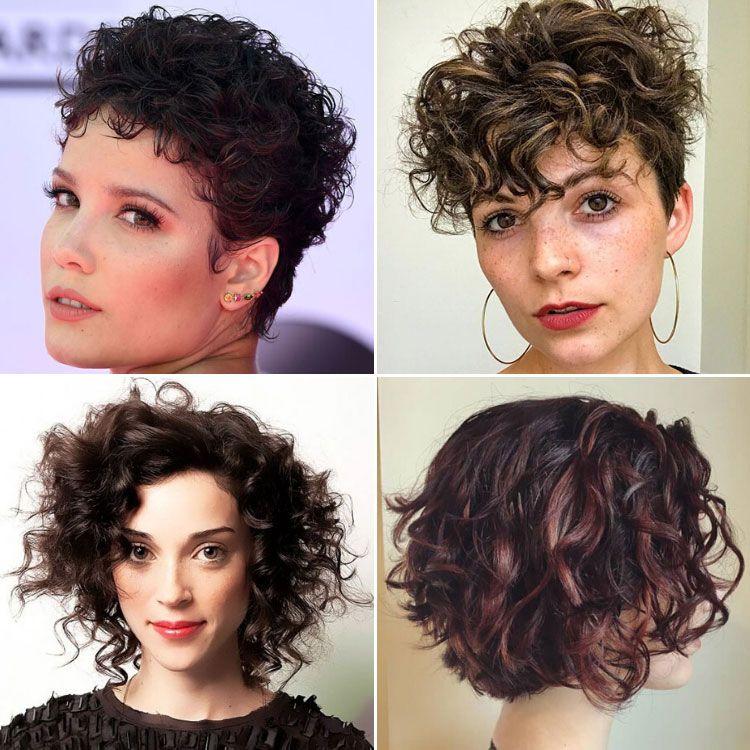 63 Cute Hairstyles For Short Curly Hair Women 2020 Guide Curly Hair Styles Short Curly Hair Woman Thicker Hair