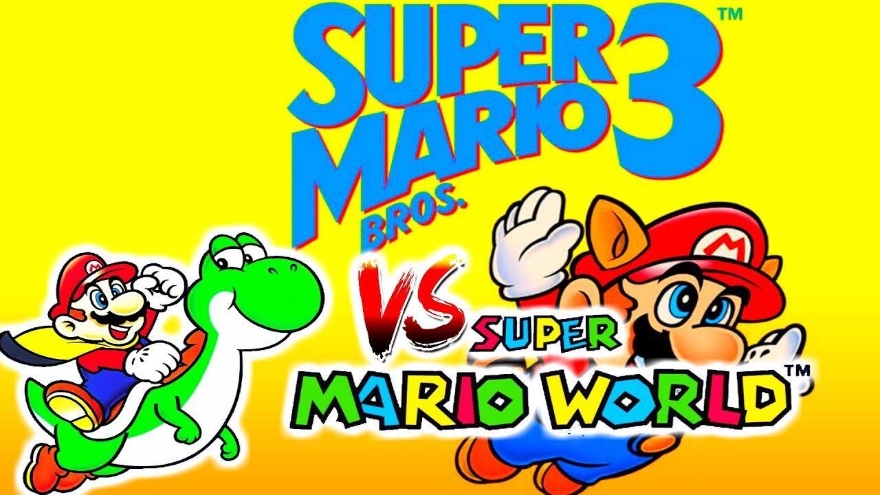 Super Mario Bros 3 Nes Vs Super Mario World Snes Two Of The Best