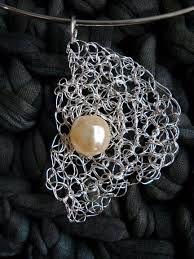 Afbeeldingsresultaat Voor Gehaakte Juwelen Zilverdraad Biżu