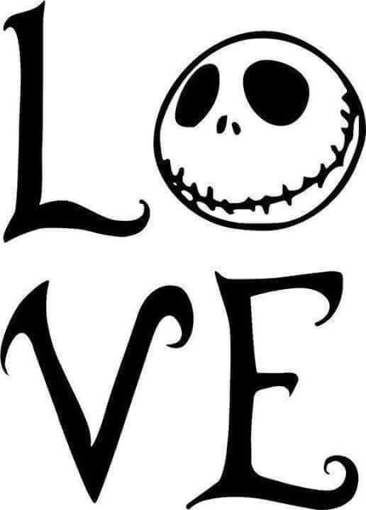 Download Nightmare Before Christmas, Jack Skellington, LOVE ...
