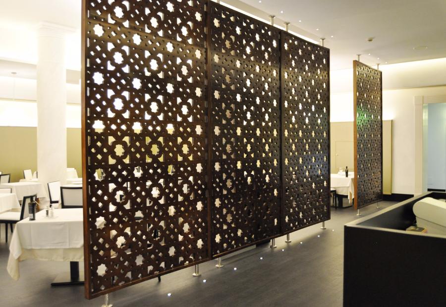 Celosias celosias madera celosias decorativas separadores for Celosias para interiores
