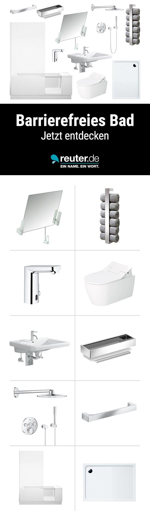 Barrierefreies Badezimmer Ob Seniorengerecht Rollstuhlgerecht Oder Behindertengerecht Mit Dieser Badaussta Ebenerdige Dusche Barrierefrei Bad Wc Mit Dusche