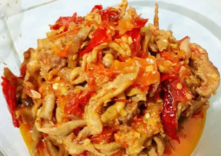 Resep Sambal Usus Oleh Ita Resep Makanan Resep Tomat