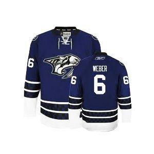 Weber blue Jersey, NHL Nashville Predators #6 Jersey ID:2692 Price:$35