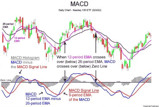Macd Indicator Moving Average Forex Trading Technical Analysis