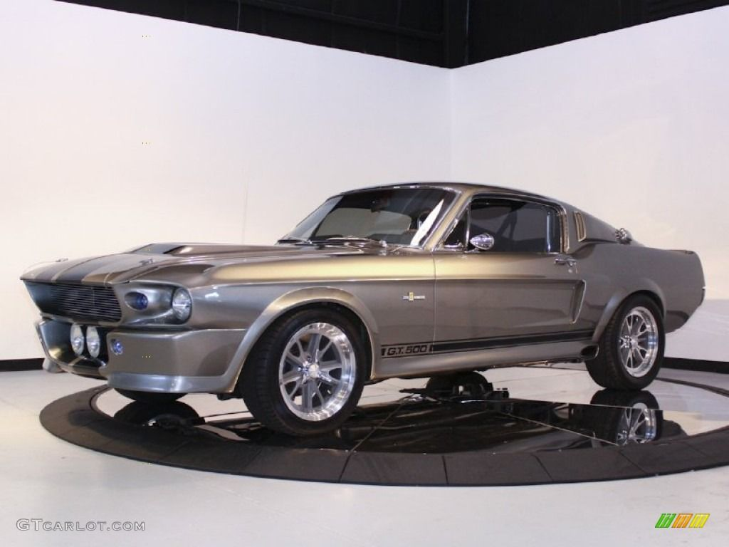 1967 Mustang Shelby G T 500 Eleanor Fastback Grey Metallic Black Photo 4 Ford Shelby Ford Gt Ford Mustang Fastback