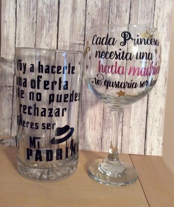 Spanish Written Godparent Proposal Gifts, Padrino Y