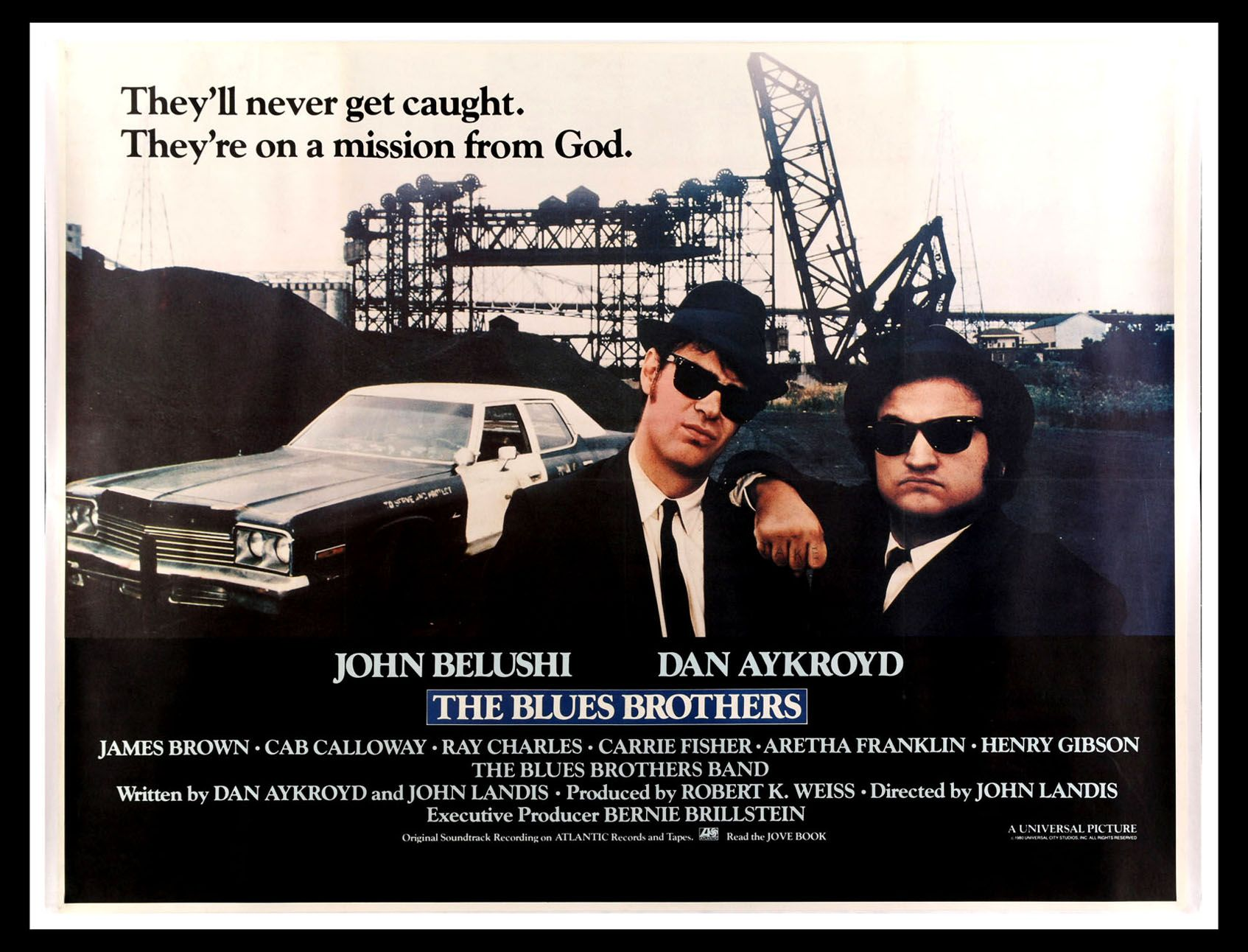 THE BLUES BROTHERS (1980) Starring Joliet Jake and Elwood Blues ...