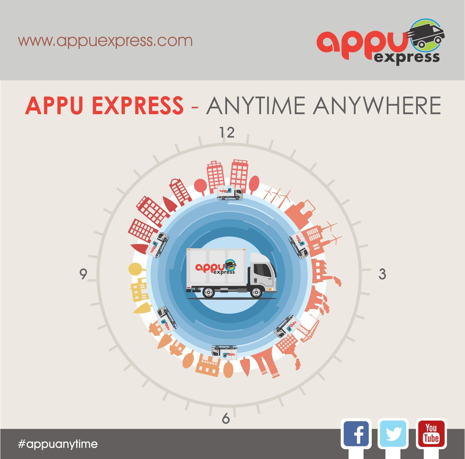 Go beyond Transportation services with AppuExpress and