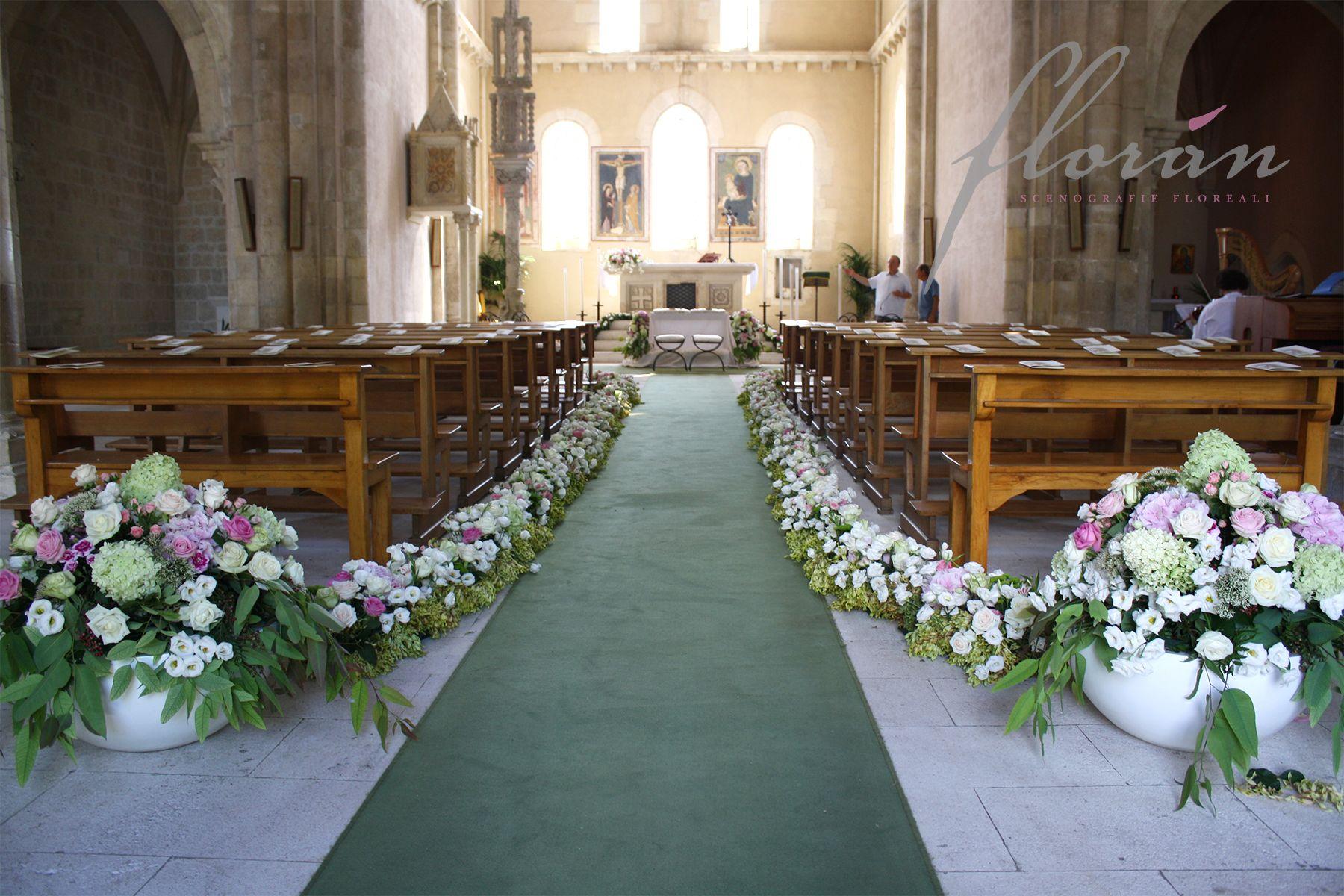 Ben noto Decorazioni Matrimonio Chiesa – Idea d'immagine di decorazione VC34