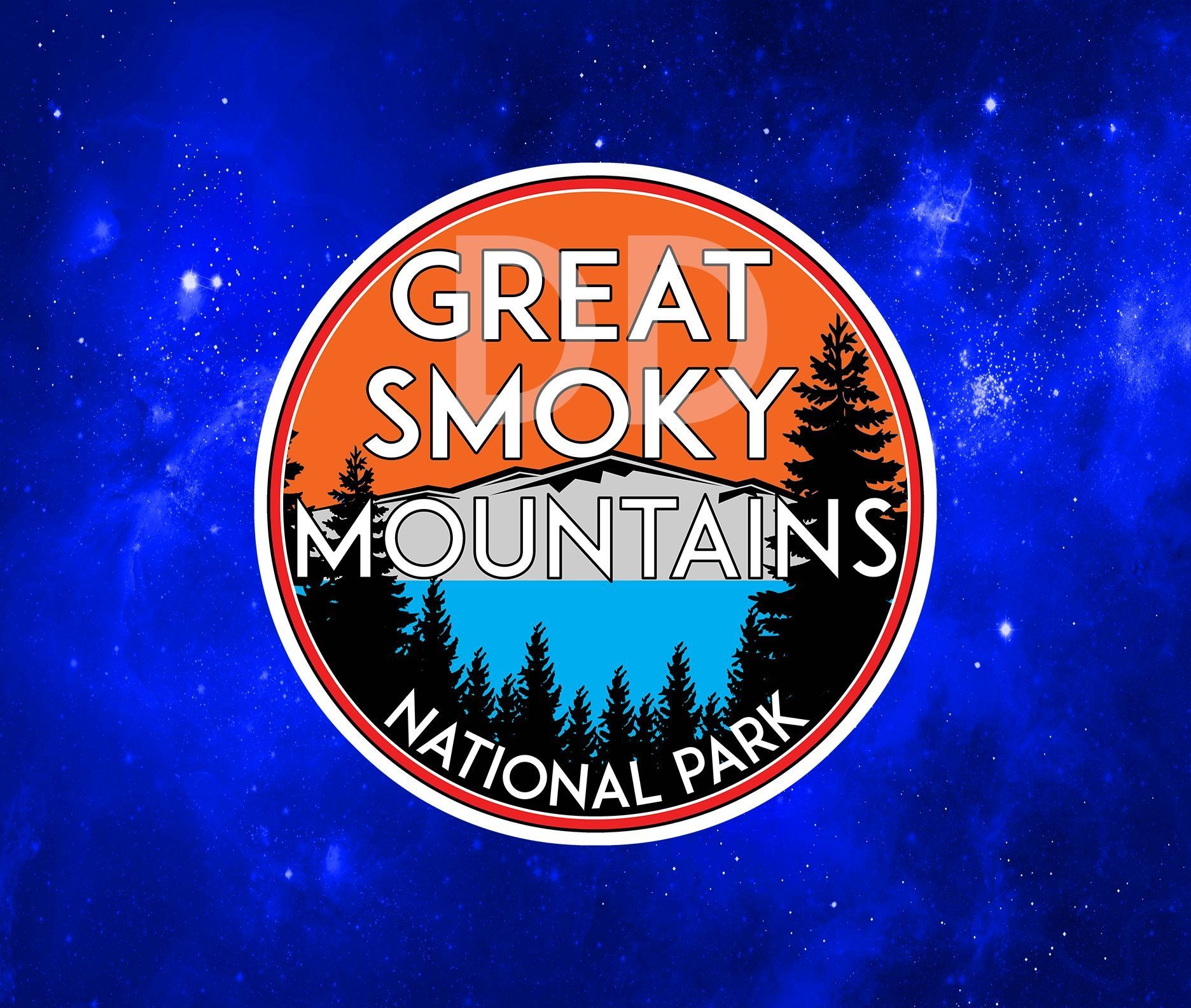 Great Smoky Mountains National Park Vinyl Decal Sticker 3 X 3 Vinyl Decals Great Smoky Mountains Old Volkswagen Van