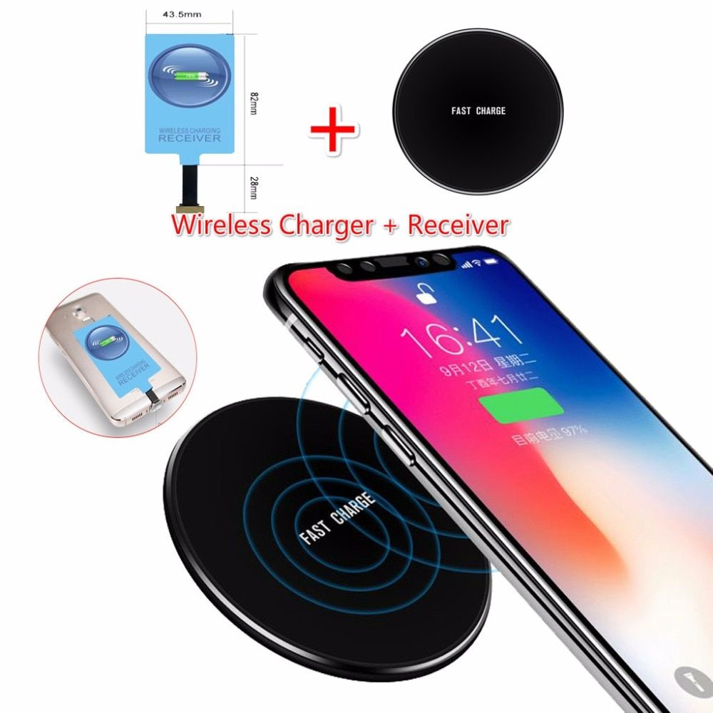10w Original Qi Wireless Charger For Xiaomi 4x 4 X Note 4 5a Charging Pad With Usb Charging Adapter For Xiaomi Redmi 4x4 Wireless Charger Usb Charging Charger