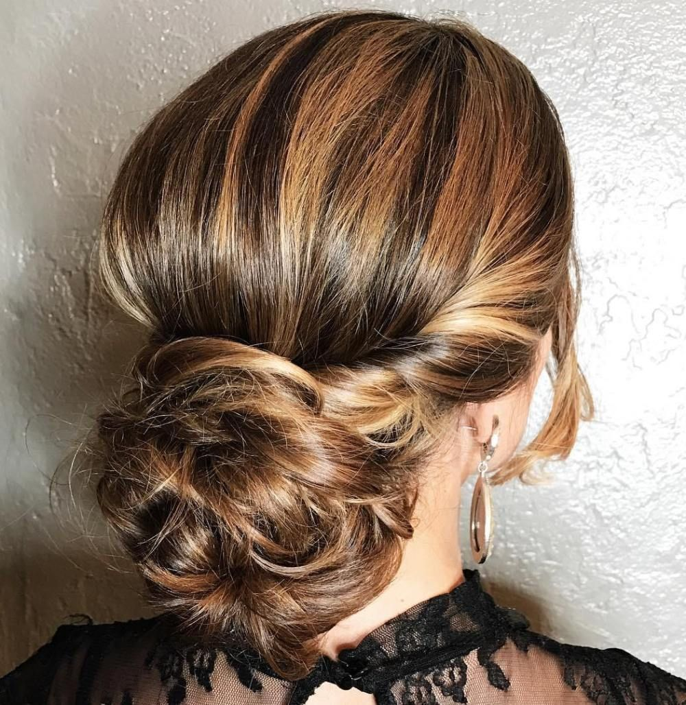 20 Inspiration Low Bun Hairstyles For Wedding 2019 2020: 40 Lovely Low Bun Hairstyles For Your Inspiration In 2019