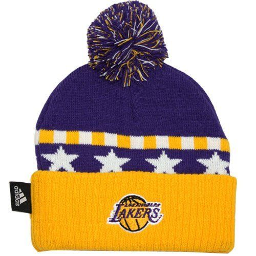 Los Angeles Lakers Toddler Knit Beanie Hat Cap Adidas Team Colors Authenic  by adidas.  14.99. Adidas and NBA Licensed Product. Toddler Knit beanie. 4f8e84602acc