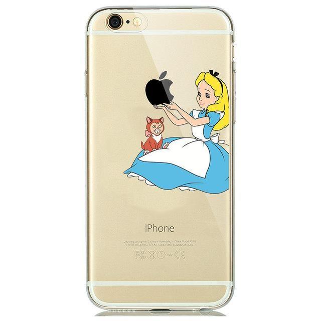 coque iphone 7 plus silicone disney