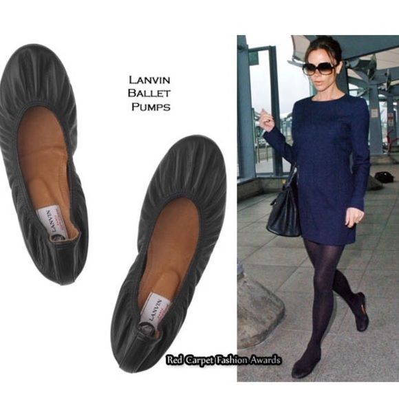 941f5804bf5 Lanvin Black Ballet Flats Lanvin Black Ballet Flats Color  Black 100%  Authentic Size ❗️I couldn t find the size
