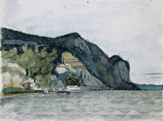 139. Hook Mountain, Nyack - 1899 circa -  New York, Whitney Museum of American Art