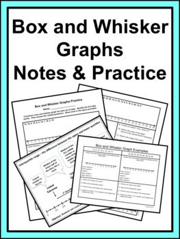 Box and Whisker Notes & Practice | Middle school math ...