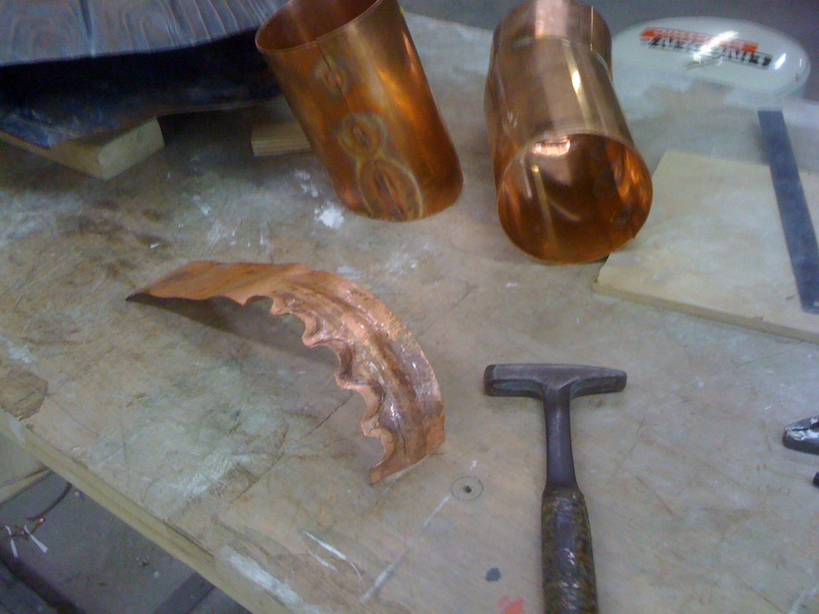 Repousse Sculpture Copper Forming And Fabrication Tutorial Repousse Copper Diy Sculpture