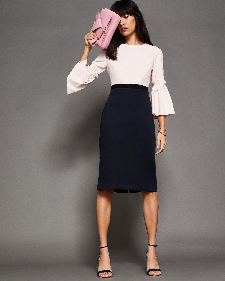 accc95a70c75 Tulip sleeve dress - Black