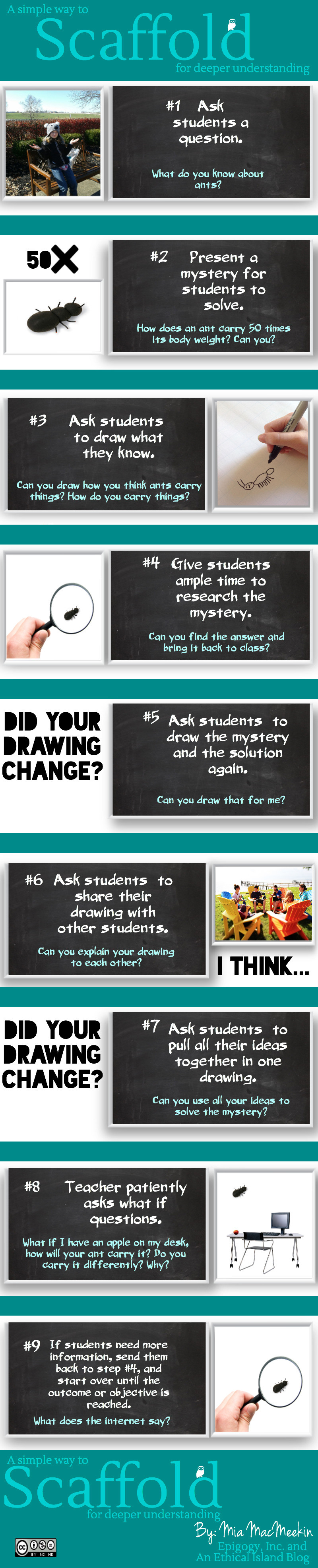 """""""9 Ways to Scaffold for Deeper Understanding"""" (#INFOGRAPHIC)"""