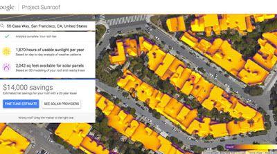 Il Capitalista.com: Aggiornamento di Google Maps per il Fotovoltaico