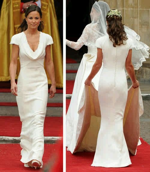 Pippa Middleton Bridesmaid Dress Ivory Alexander Mcqueen Pippa Middleton Bridesmaid Dress Pippa Middleton Bridesmaid Latest Bridesmaid Dresses