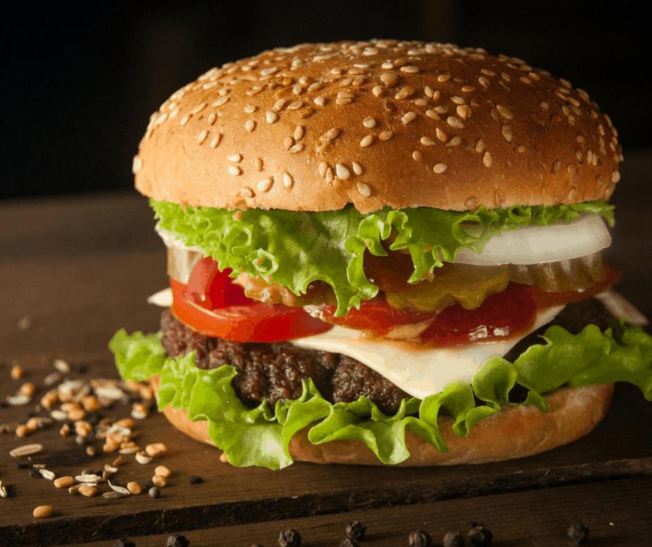 Air Fryer, Frozen Hamburgers in The Air Fryer Fork To