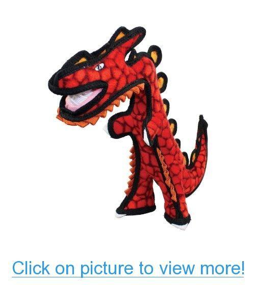 Vip Products Tuffy Jr. Destructosaurus Dog Toy Tuffy dog