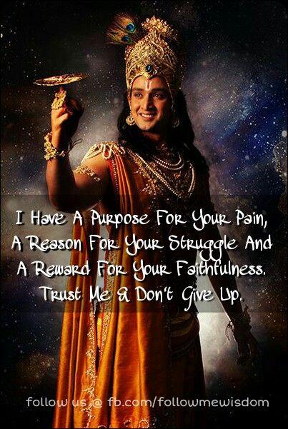 Lord Krishna Bhagwat Gita Quotes Eyeshadow Tutorials Krishna