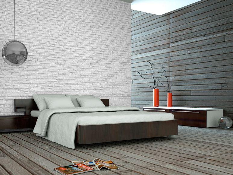Panel de poliuretano aislante y decorativo con acabado for Imitacion ladrillo interior