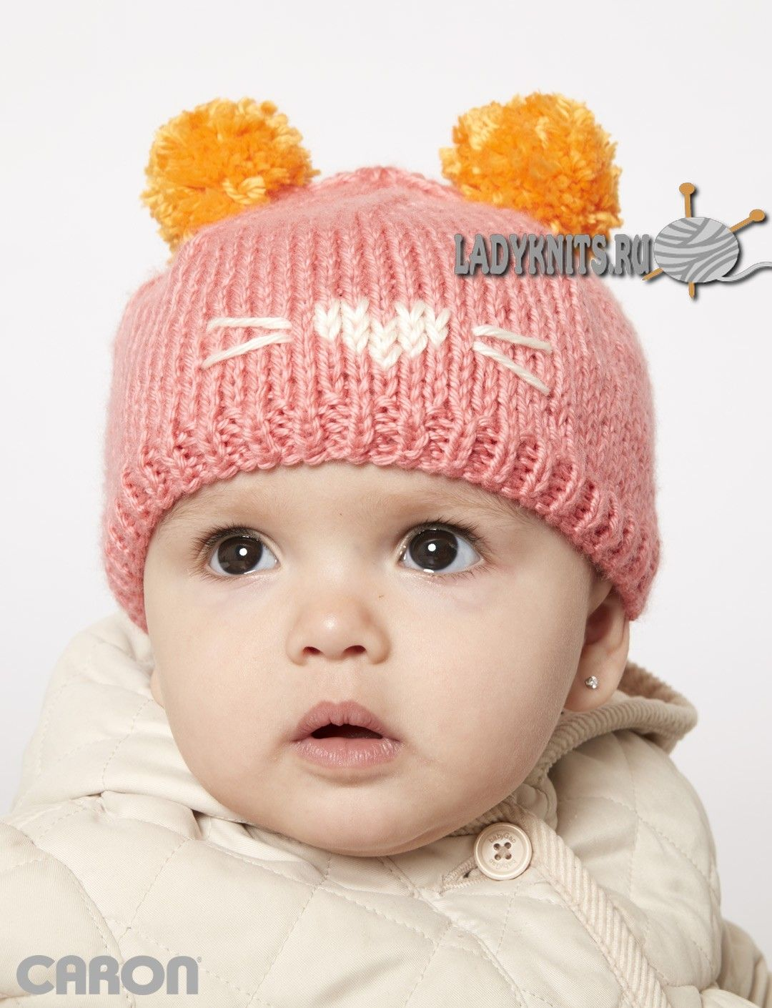 caron with this cute as a kitten hat easily knit in caron simply soft this hat features a little kitten face and pompom ears for an adorable cap bankloansurffo Image collections