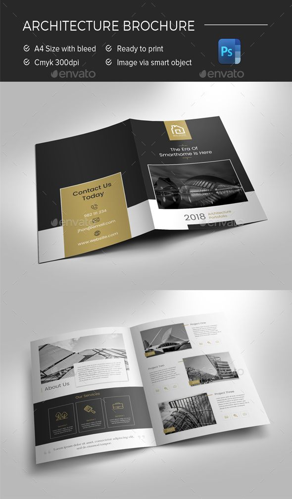 Architecture Brochure  Print Templates Brochures And Brochure Template