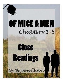 Of mice and men homework help