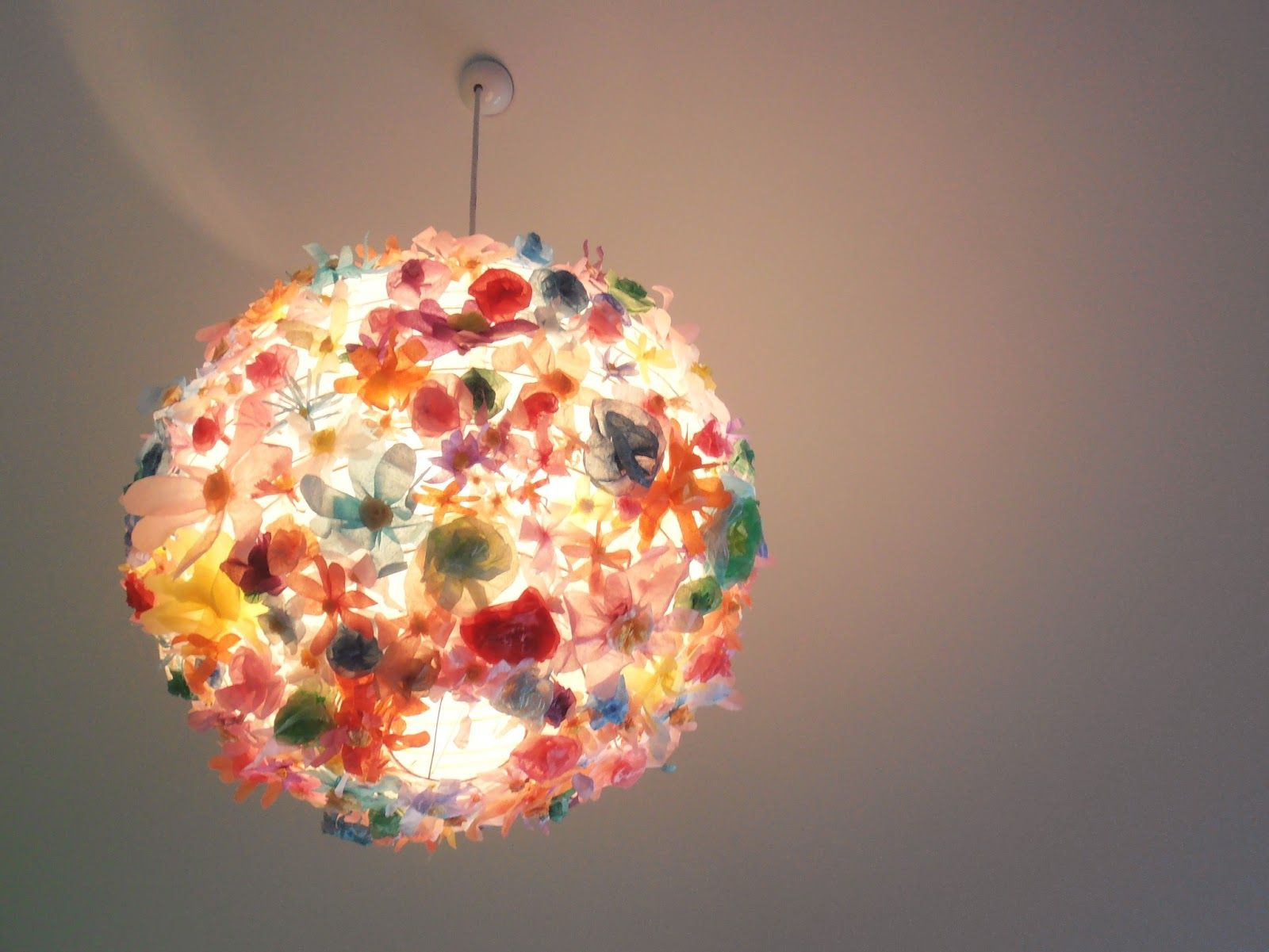 Thimble diy floral lampshade lighting fascination pinterest thimble diy floral lampshade mightylinksfo Gallery